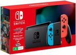 Nintendo Switch Console Neon/Grey + Mario Kart 8 Deluxe (Digital) + Nintendo Online 3 Month $399 Delivered @ Amazon AU