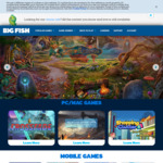 [PC] [MAC] Free - 2x Big Fish Games of Your Choice