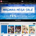 Up to 70% Off Anime, Merch, Manga, TV, & Film @ Madman