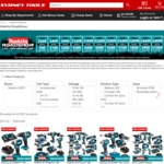 $50 Store Credit with $249 Spend and up to $1000 Store Credit with $4999 Spend on Makita Tool Purchases @ Sydney Tools