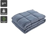 Ovela Bamboo Weighted Blanket (9kg) $49 + Delivery @ Kogan