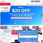 $20 Credit with $50 Minimum Spend / $10 off $100 Minimum Spend @ Kogan