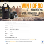 Win 1 of 30 Wine Traveller Sets Worth $41.67 from Cellarbrations