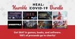 [PC] Steam - Heal: Covid 19 Bundle - $25.96 (23 games, 8 eBooks, 4 Software Programs) - Humble Bundle