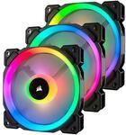 Corsair LL120 or QL120 RGB PWM 120mm Fan Black (3 Fan Pack) with Lighting Node Pro $99 + Delivery ($0 Sydney C&C) @ PC Byte