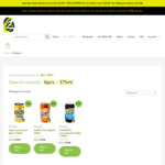 Schweppes Lemonade, Solo and Sunkist 375ml Cans 6pk $3.50 Each + Delivery @ OZ Grocer