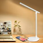 Desk Lamp with USB Charging Port $25.68 + Delivery ($0 with Prime/ $39 Spend) @ Eocean-Au via Amazon AU