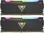 Patriot Viper Steel RGB DDR4 32GB (2x 16GB) 3200MHz RAM Kit $150 Delivered @ Patriot Memory AU via Amazon AU