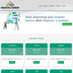 AU Domain Name for $13.50/Year (1-5 Years Registration, 1 Email Account Included) @ Register A Domain