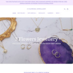 15% off Storewide, Statement Earrings 3 for The Price of 2 + Delivery ($0 with $39 Order) @ 3 Flowers Jewellery