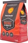 Heat Beads Original 7.5kg BBQ Briquettes $9.25 @ Bunnings Warehouse