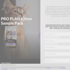 Free Purina Cat Food Samples @ Nestle Promotions