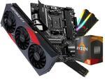 RTX 3070 Ti, 5900X CPU, B550M Mobo, 1TB NVMe Gen4 SSD & 16GB RGB 3200MHz CL16 DDR4 RAM DIY Bundle $2499 + Delivery @ Evatech