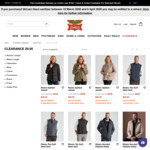 Rivers Clearance Jackets $29.95 + $10 Delivery (Free with $100 Spend) @ Rivers