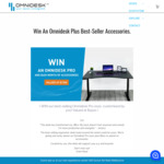 Win a Custom Omnidesk Pro 2020 + a $600 Gift Voucher (Worth $1500) from The Omni Desk