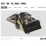 Get Me to New York Designer Silk Scarves - $20 off with Free Postage