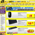 JB Hi-Fi 20% off of Logitech Accessories, Including Speakers ( Z623 $109.60 )