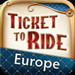 Ticket to Ride Europe Pocket FREE iOS iPhone App (Was $1.99)