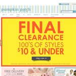 Pumpkin Patch Free Delivery Until Midnight today