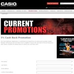 Casio Piano, Keyboards and Synthesizers, 5% Cashback