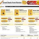 Norton Antivirus 70-75% off with Coupon