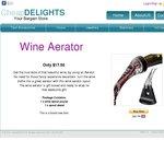 Wine Aerator - $17.50 + $6.60 Postage