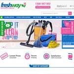 """Freshway Cleaning Supplies Everything IN """"DAILY DEALS""""  UP TO 50% OFF LIMITED TIME"""
