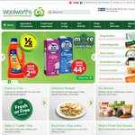 Woolies/BWS 50% off Deals - Starts 8th January