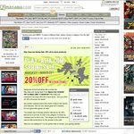 PLAY-ASIA 20% off in-Stock Product Released before March 2014 (Start 2AM Brisbane Time)