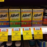 Blackmores Alive Multivitamins Men's $2.69 and Women's $5.39 (Was $13.49) at Coles Turrumurra NSW