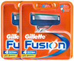 2x Gillette Fusion Razor Cartridges 4pk - $11.53 - Shipped @ Catch Of The Day