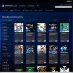 PS4 SEN AU Sale (PS+ User Get Double Discount)