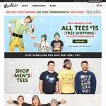 Threadless - All Tees under $15USD, Free Intl Shipping ($25 Min)