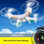 Syma X5C-1 RC 6 Axis Gyro 4CH 2.4GHz Quadcopter HD Camera US$49.99 Delivered @ Gearbest