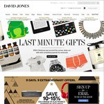 10%-15% off a Range of Electronics Powered by Dick Smith - David Jones