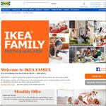 $15 off When You Spend $99 or More at IKEA Perth and Adelaide