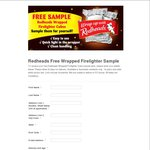 Free Redheads Wrapped Firelighter Cube Sample Pack