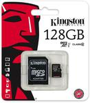 Kingston 128GB MicroSD Card & Adapter $74.50 Delivered @ Shopping Express