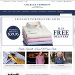 $39.95 Women's Shirts from Charles Tyrwhitt with Free Delivery