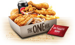 KFC - The 'One' Box $12.95 ($13.95 to $14.95 in Some other Stores)