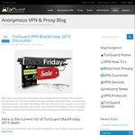 TorGuard Black Friday Sale: 50% off VPN Service: $30/Year, $4.99/Month