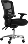 Buro Metro Task Office Chair Adjustable Arms ($250.20 Sydney, $260 Melb) Free Metro Delivery @ OfficeMax
