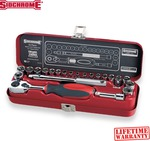 """Sidchrome 23 Piece 1/4"""" Socket Set $51.95 (RRP $79) + $9.95 Shipping @ SuperGrip Tools"""