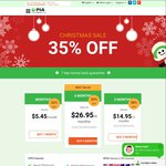 35% off PIA VPN - Private Internet Access Christmas Deal (6 Month Plan) - USD $26.95 (~AUD $38)