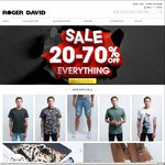 20% - 70% off @ Roger David - Chinos from $30, Where's Wally Trunks $19.99 + More