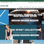 15% off Your First Order @ Lacoste.com.au