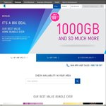 Telstra - 1000GB Home Broadband Bundle - $99/Month - 24 Month Contract
