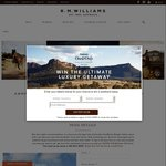 Win a Luxury Getaway in Wolgan Valley NSW & $2000 R.M. Williams Gift Card (Value $6,600) from R.M. Williams