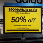 50% off Marked Price @ Adidas South Wharf (VIC)