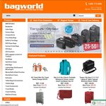 5% off Coupon Code When You Spend $49.95+ at Bagworld.com.au